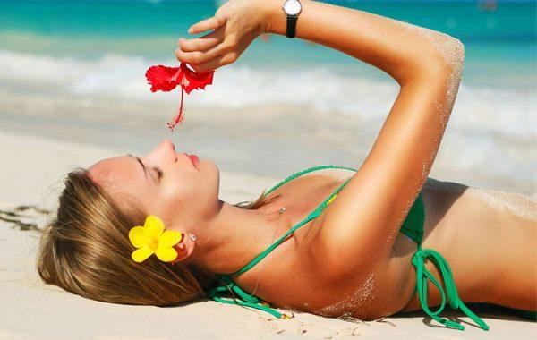 Plajlarda güzel görünme yolları